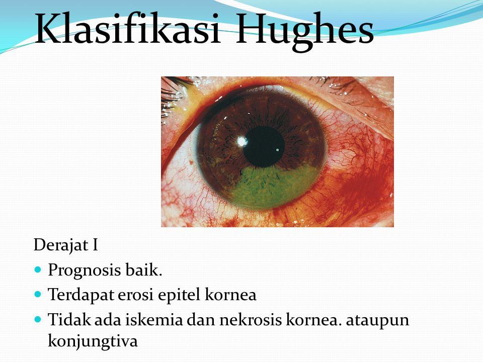 Klasifikasi Hughes Derajat I Prognosis baik.