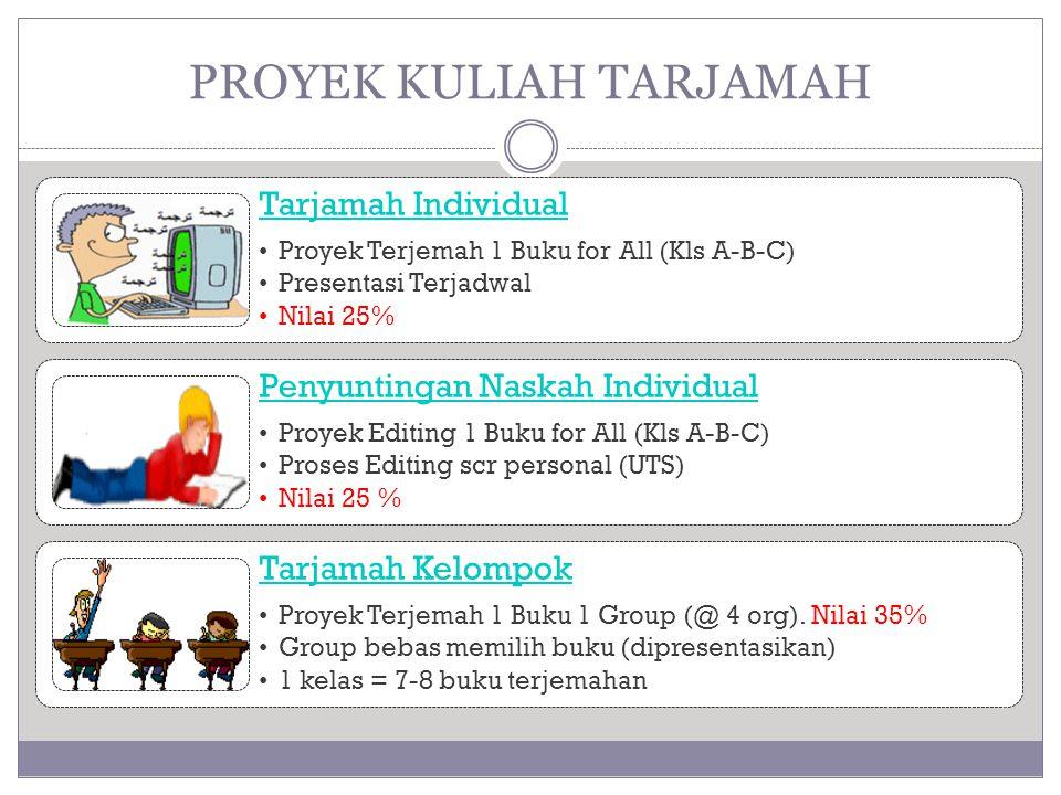 PROYEK KULIAH TARJAMAH