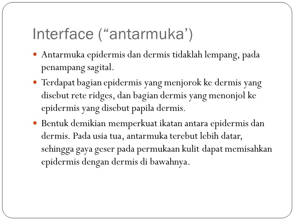 Interface ( antarmuka')