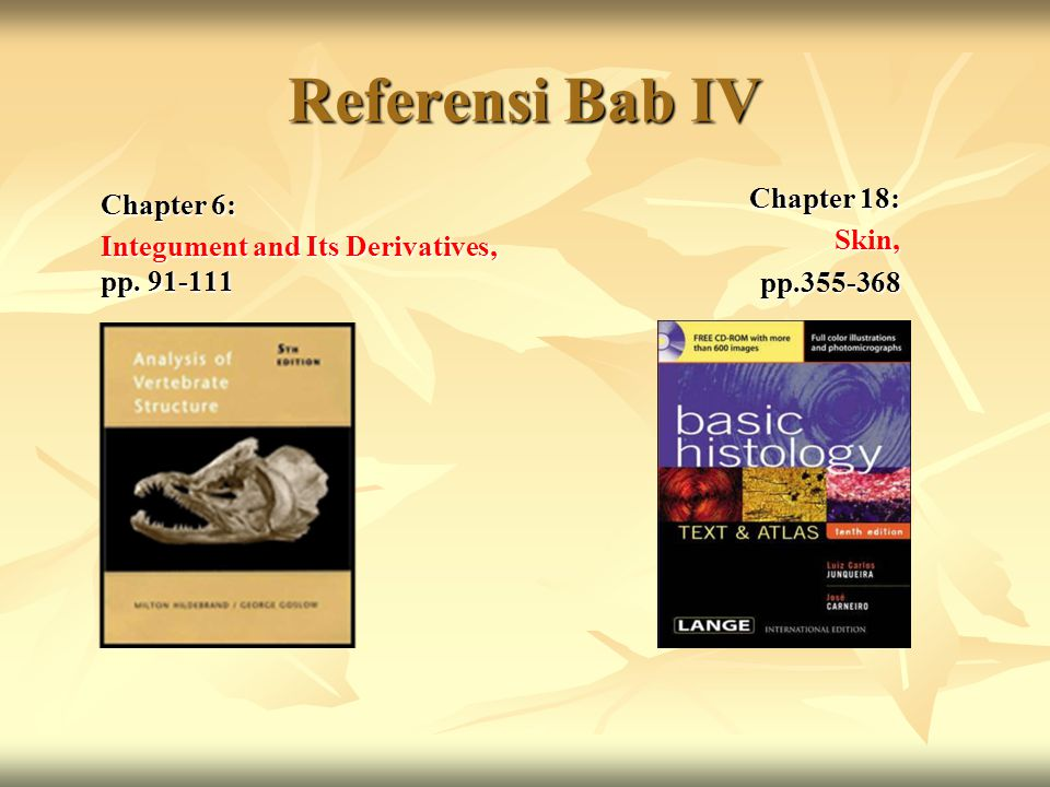 Referensi Bab IV Chapter 6: Chapter 18: