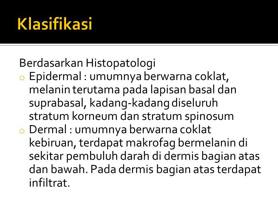 Klasifikasi Berdasarkan Histopatologi