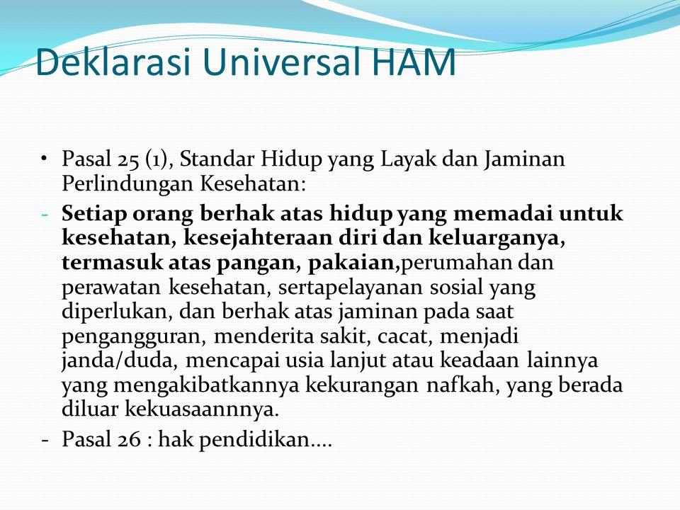 Deklarasi Universal HAM
