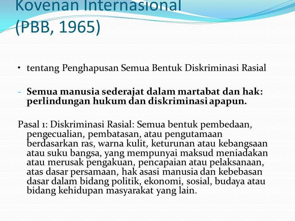 Kovenan Internasional (PBB, 1965)
