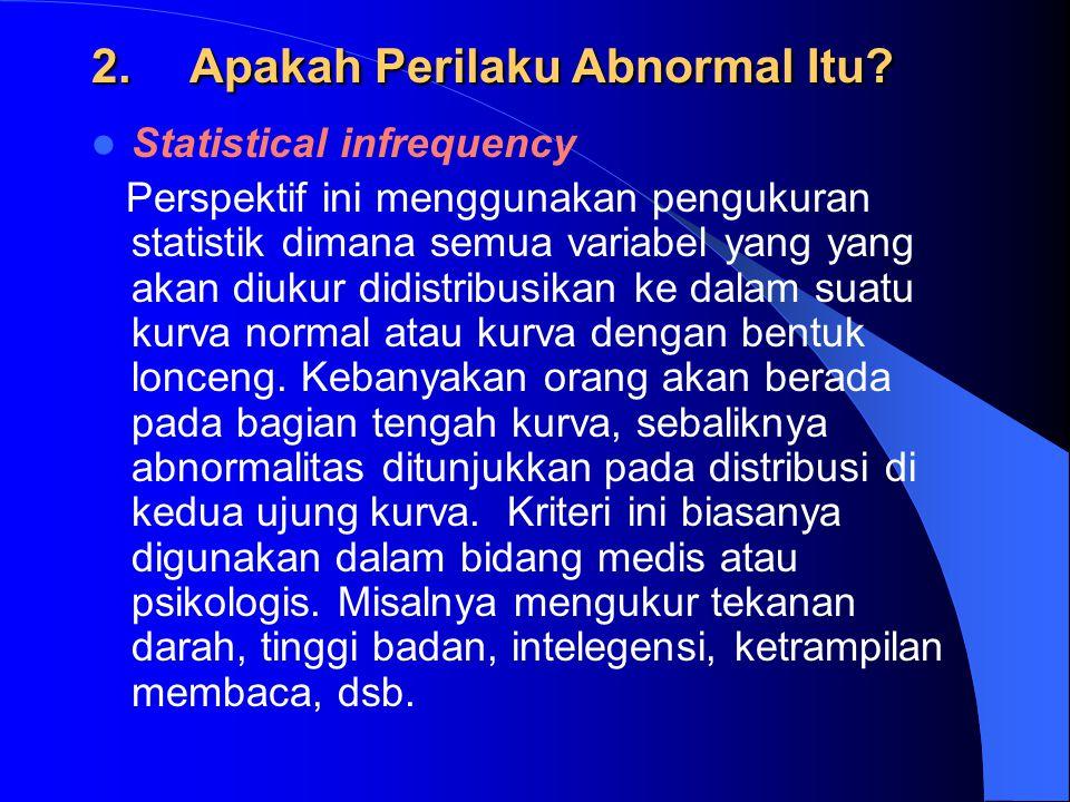 Apakah Perilaku Abnormal Itu