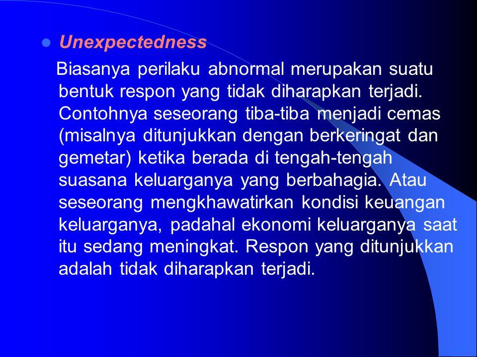 Unexpectedness