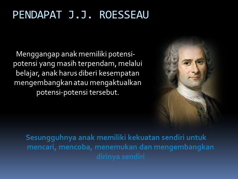 PENDAPAT J.J. ROESSEAU