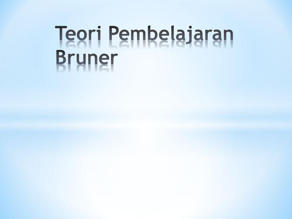 Teori Pembelajaran Bruner