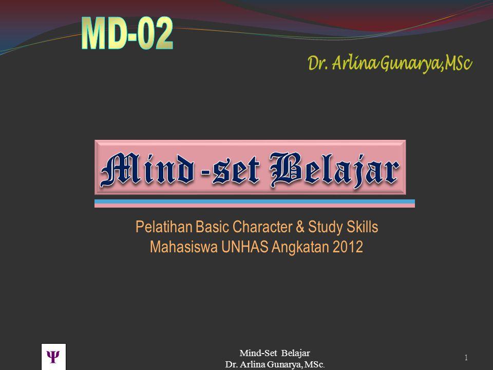 Mind-set Belajar Pelatihan Basic Character & Study Skills