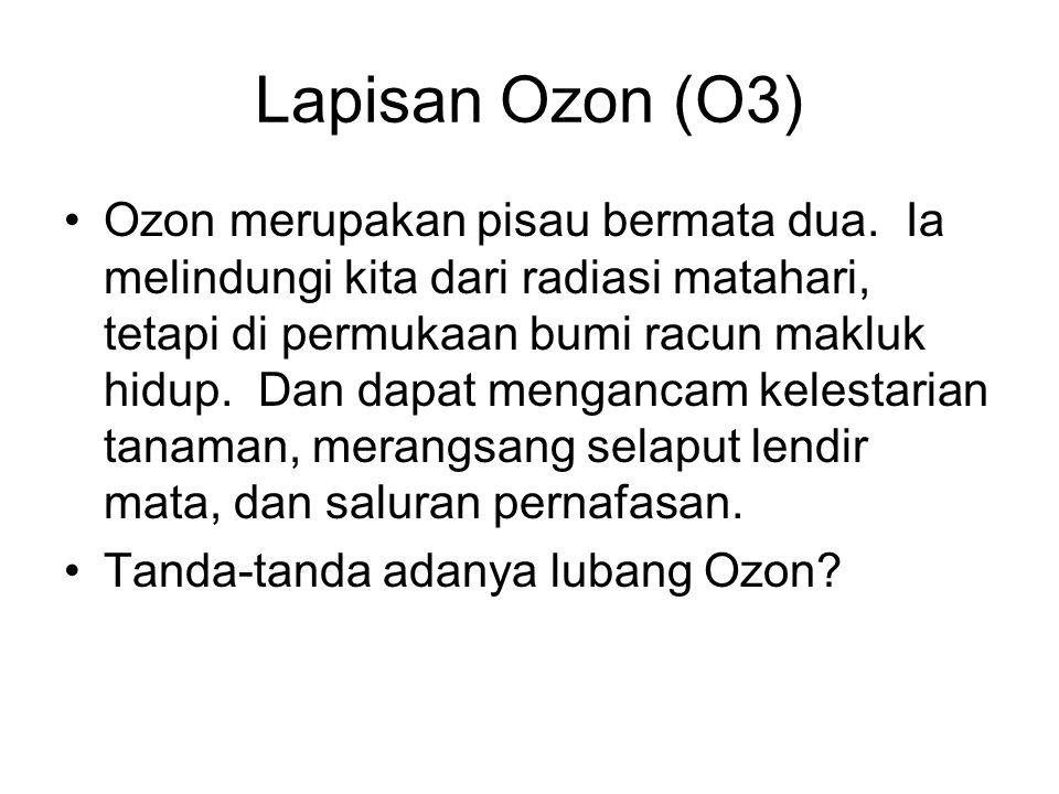 Lapisan Ozon (O3)