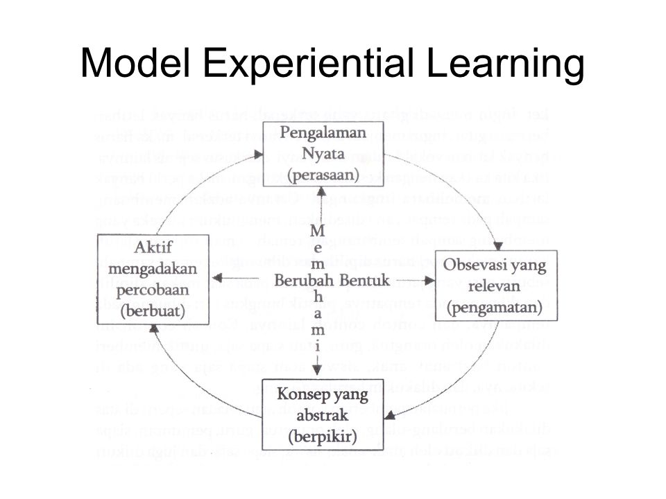 Model Experiential Learning