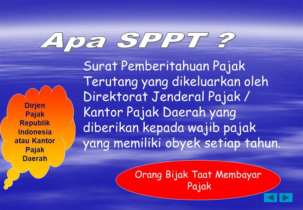 Indonesia atau Kantor Pajak Daerah