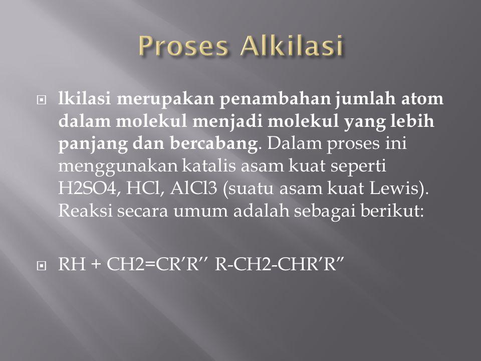 Proses Alkilasi