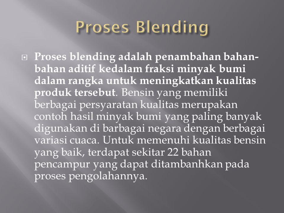 Proses Blending