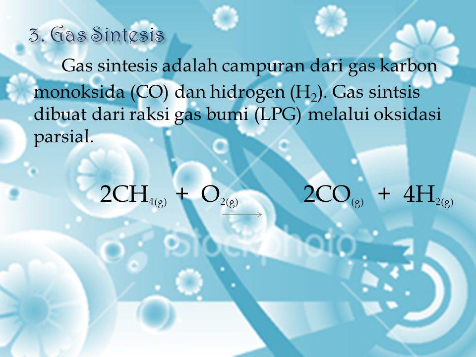 3. Gas Sintesis