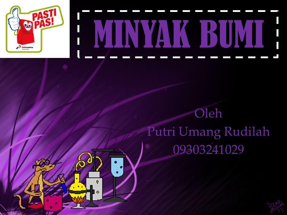 Oleh Putri Umang Rudilah 09303241029