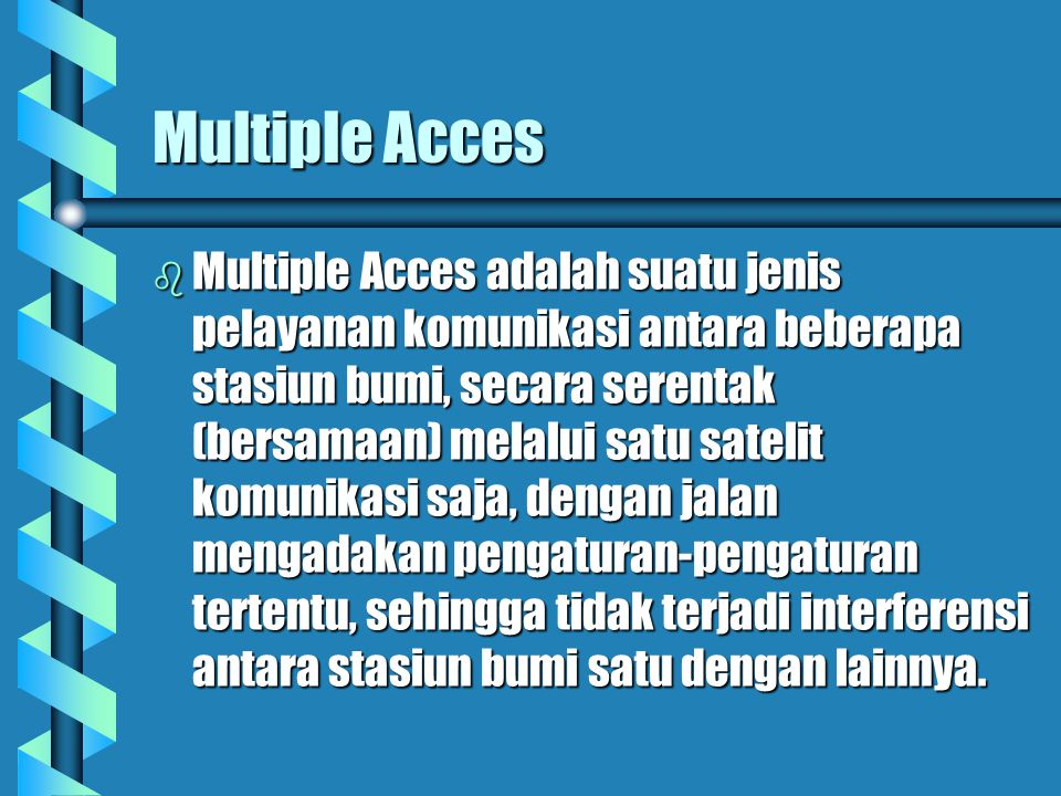 Multiple Acces
