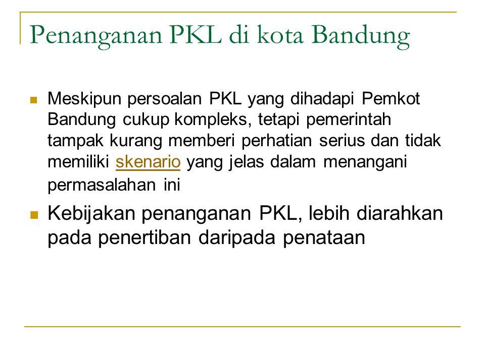 Penanganan PKL di kota Bandung