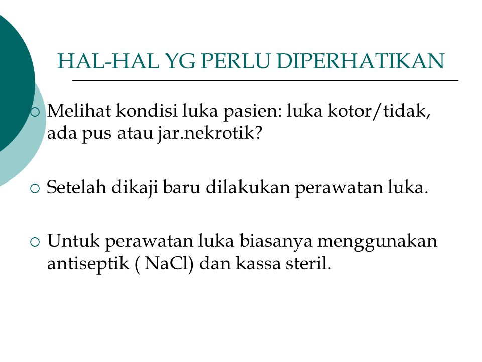HAL-HAL YG PERLU DIPERHATIKAN