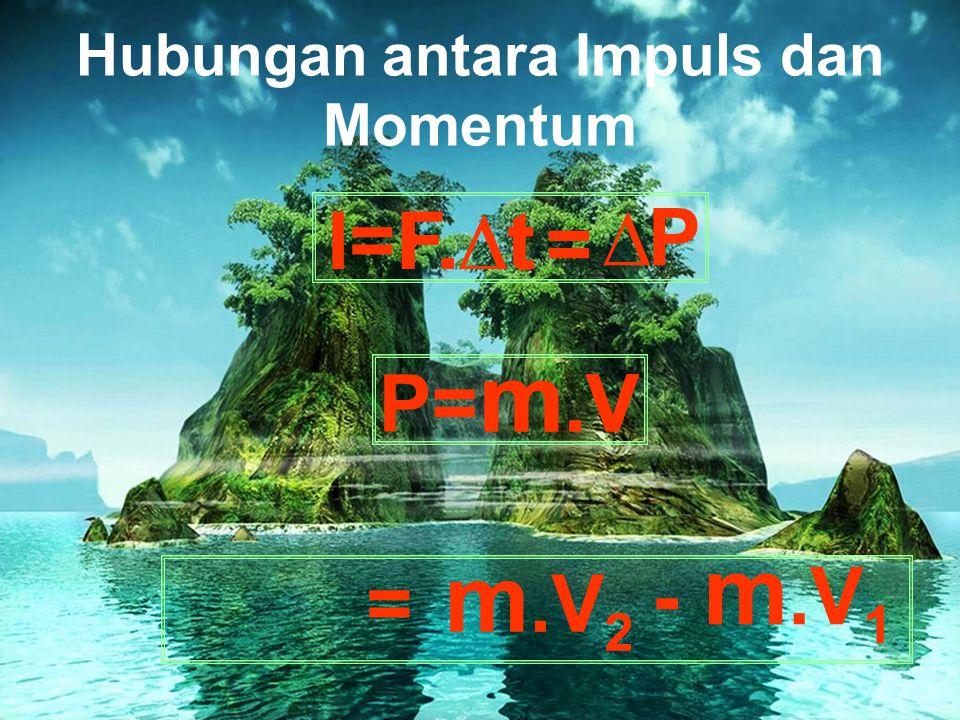 Hubungan antara Impuls dan Momentum