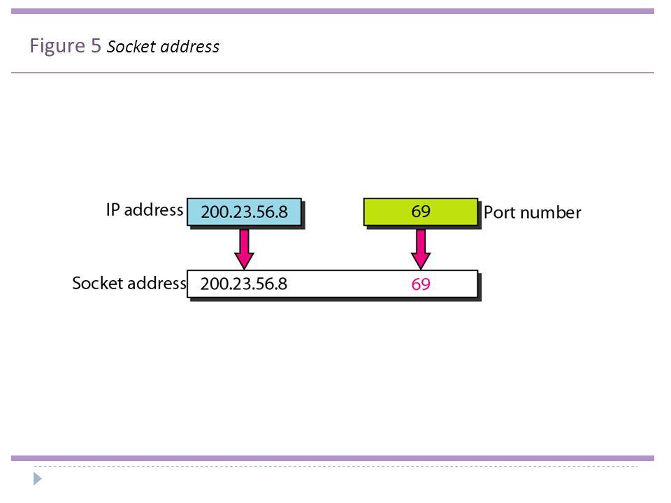 Figure 5 Socket address