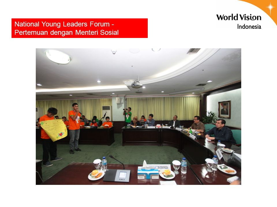 National Young Leaders Forum - Pertemuan dengan Menteri Sosial