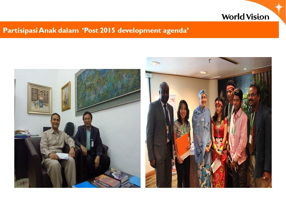 Partisipasi Anak dalam 'Post 2015 development agenda'