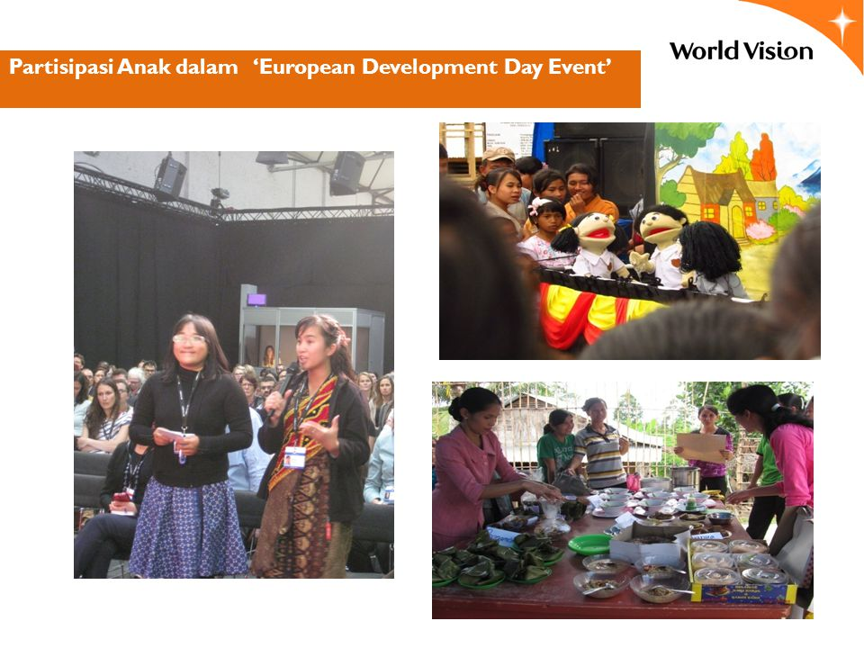 Partisipasi Anak dalam 'European Development Day Event'