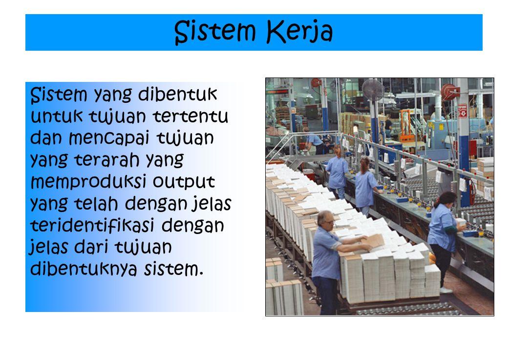 Sistem Kerja