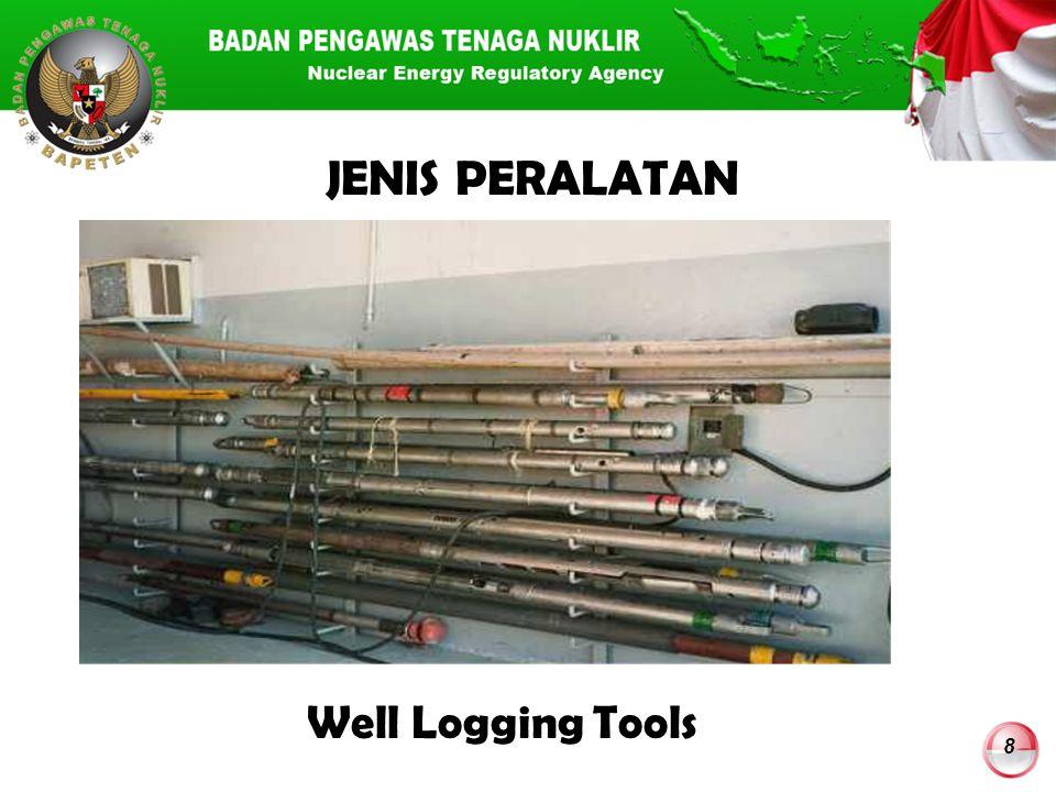 JENIS PERALATAN Well Logging Tools