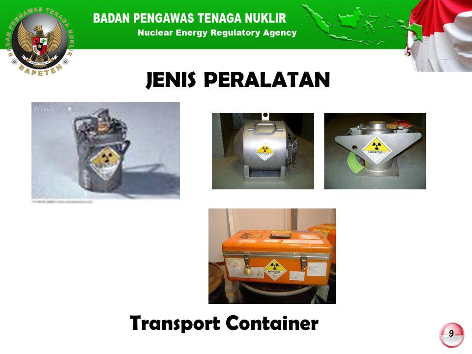 JENIS PERALATAN Transport Container