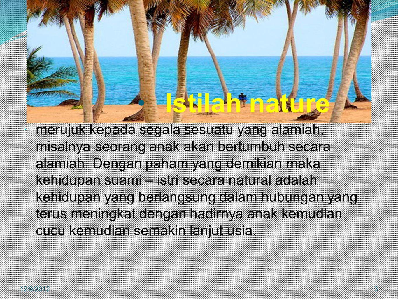 Istilah nature