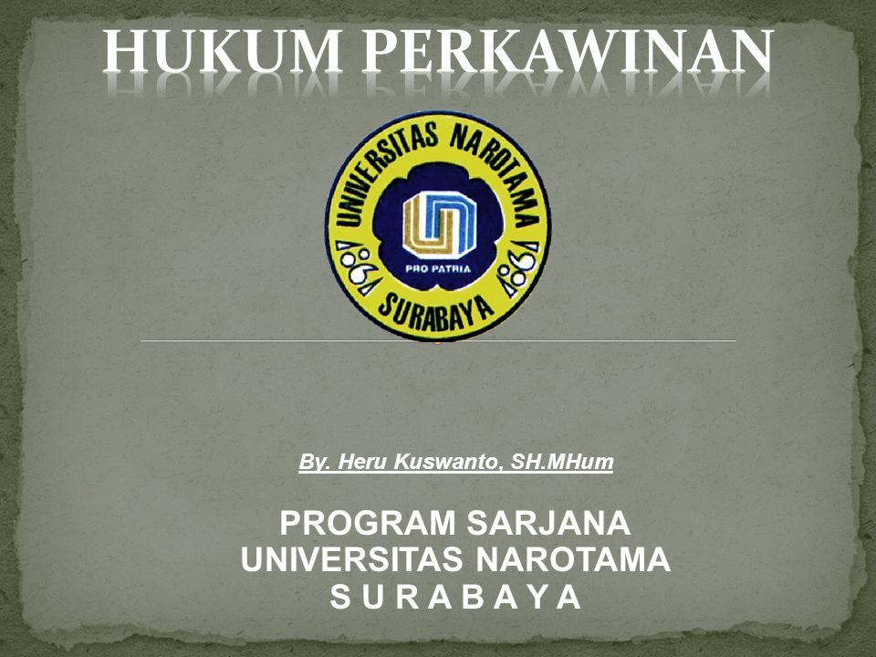 By. Heru Kuswanto, SH.MHum