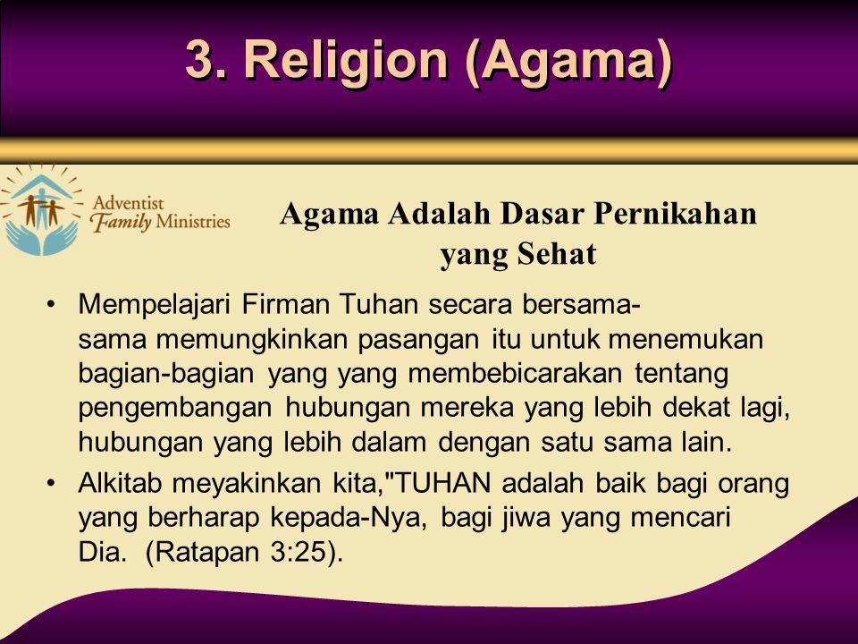 Agama Adalah Dasar Pernikahan yang Sehat