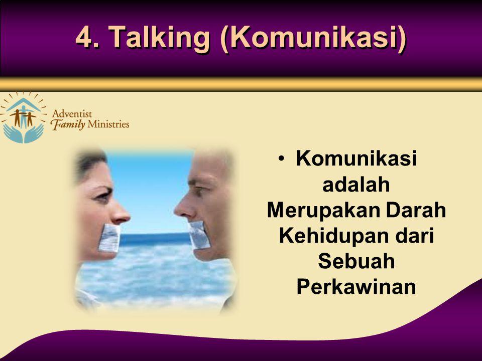 Komunikasi adalah Merupakan Darah Kehidupan dari Sebuah Perkawinan
