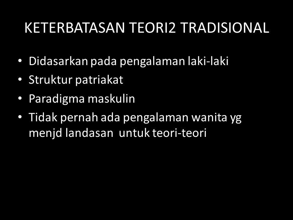 KETERBATASAN TEORI2 TRADISIONAL
