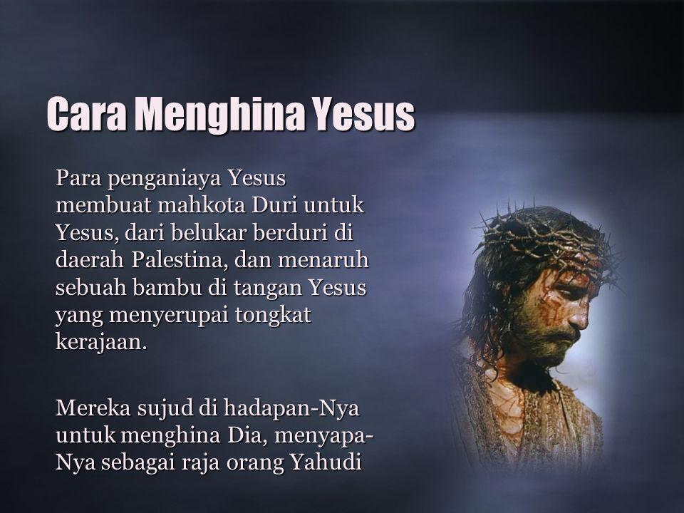 Cara Menghina Yesus