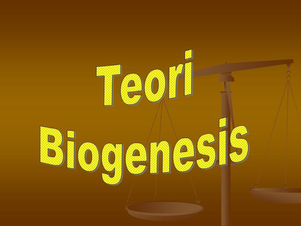 Teori Biogenesis