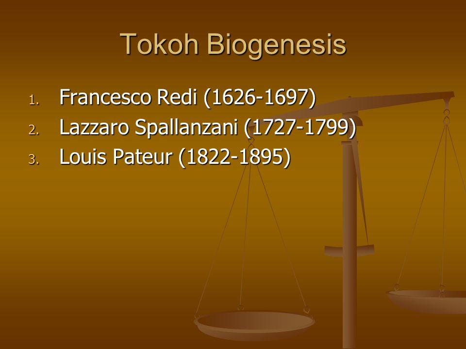 Tokoh Biogenesis Francesco Redi (1626-1697)