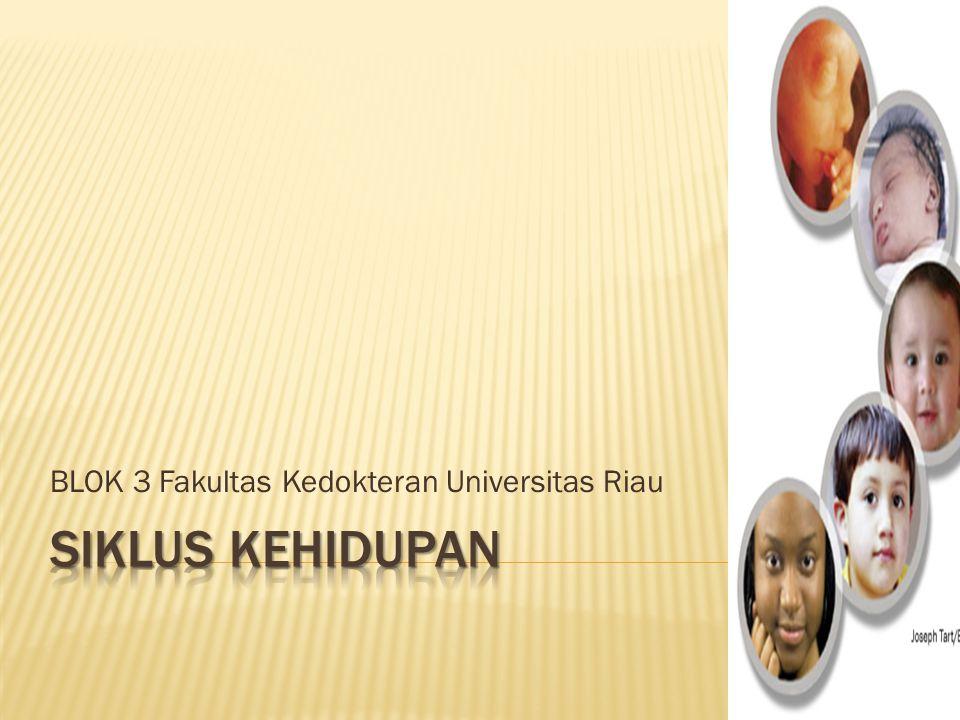 BLOK 3 Fakultas Kedokteran Universitas Riau
