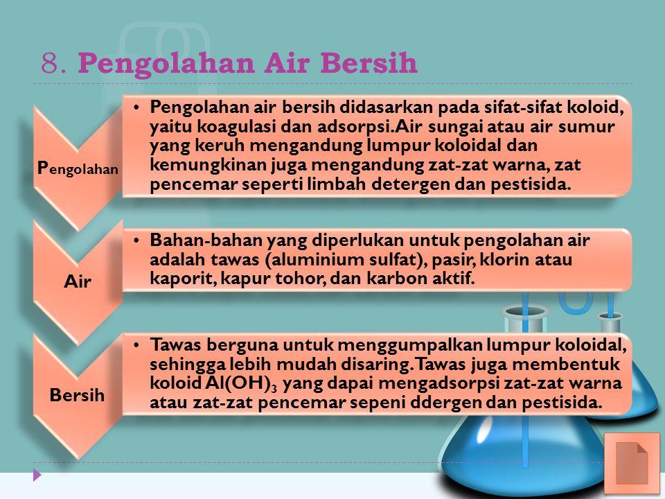 8. Pengolahan Air Bersih Pengolahan