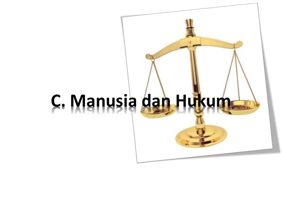 C. Manusia dan Hukum
