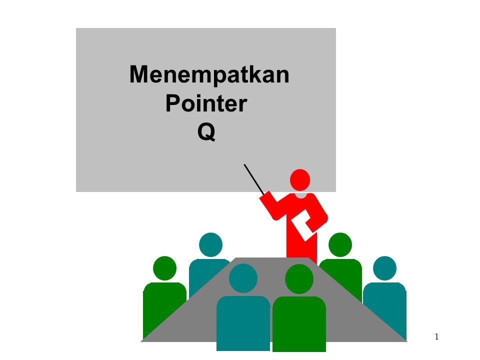Menempatkan Pointer Q 6.3 & 7.3 NESTED LOOP