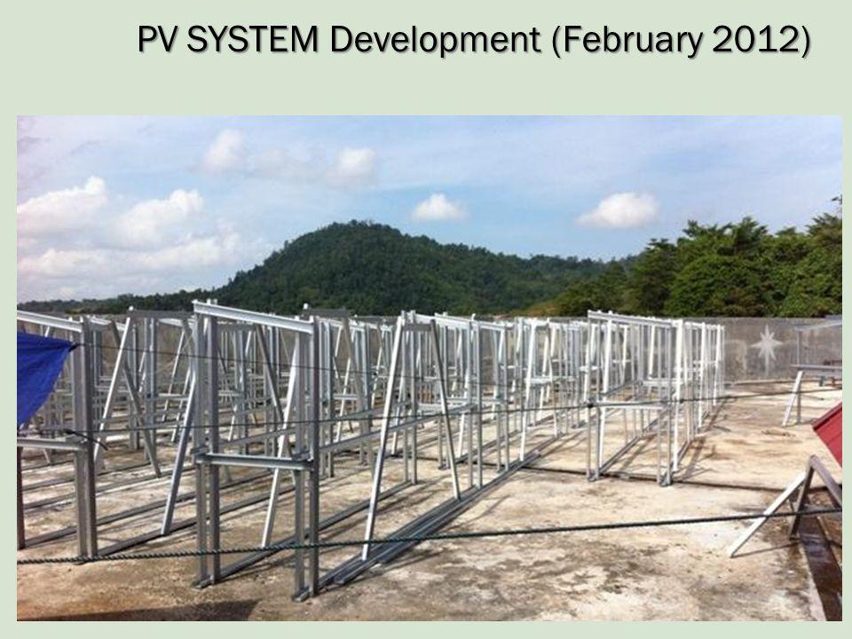 PV SYSTEM Development (February 2012)