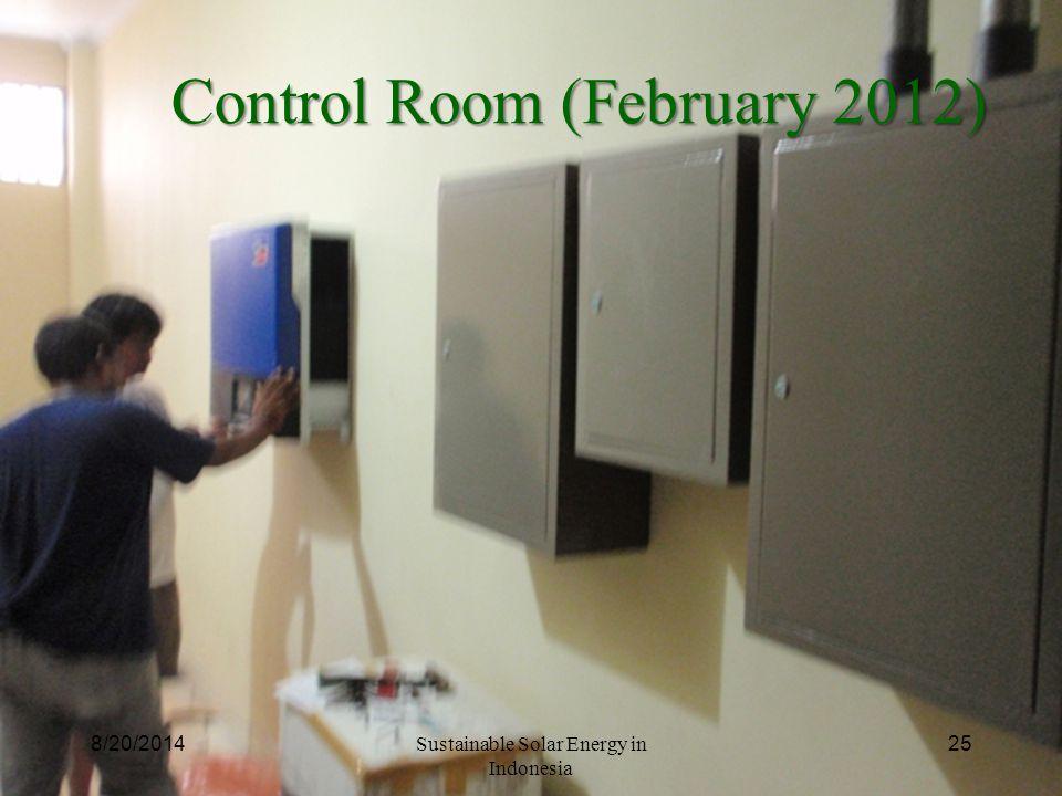Control Room (February 2012)