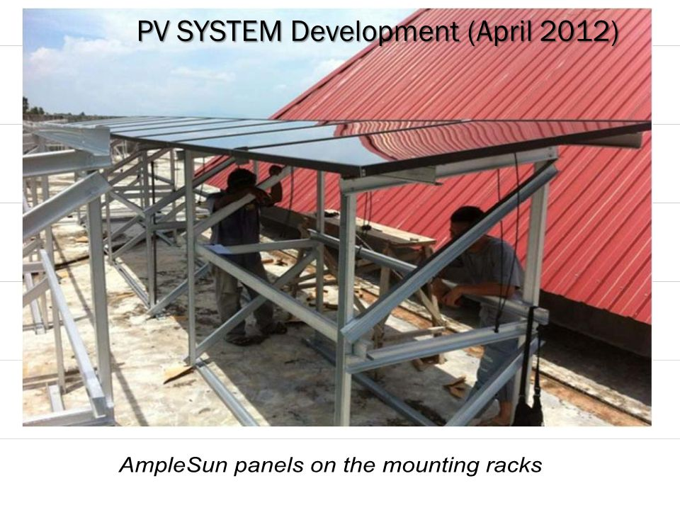 PV SYSTEM Development (April 2012)