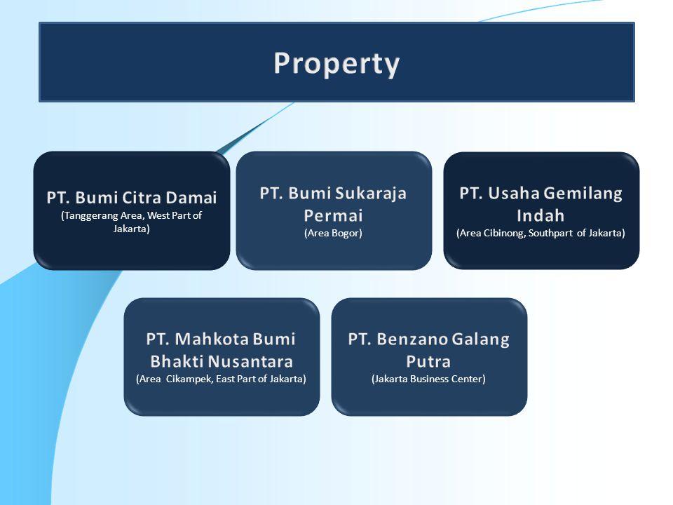 Property PT. Bumi Citra Damai PT. Bumi Sukaraja Permai