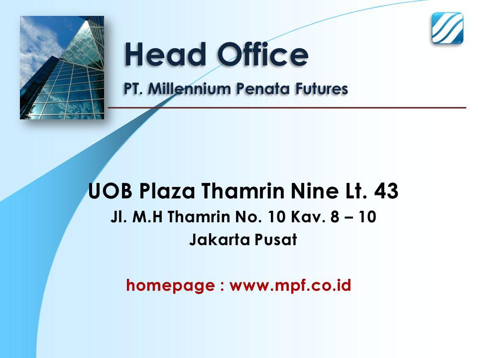 UOB Plaza Thamrin Nine Lt. 43