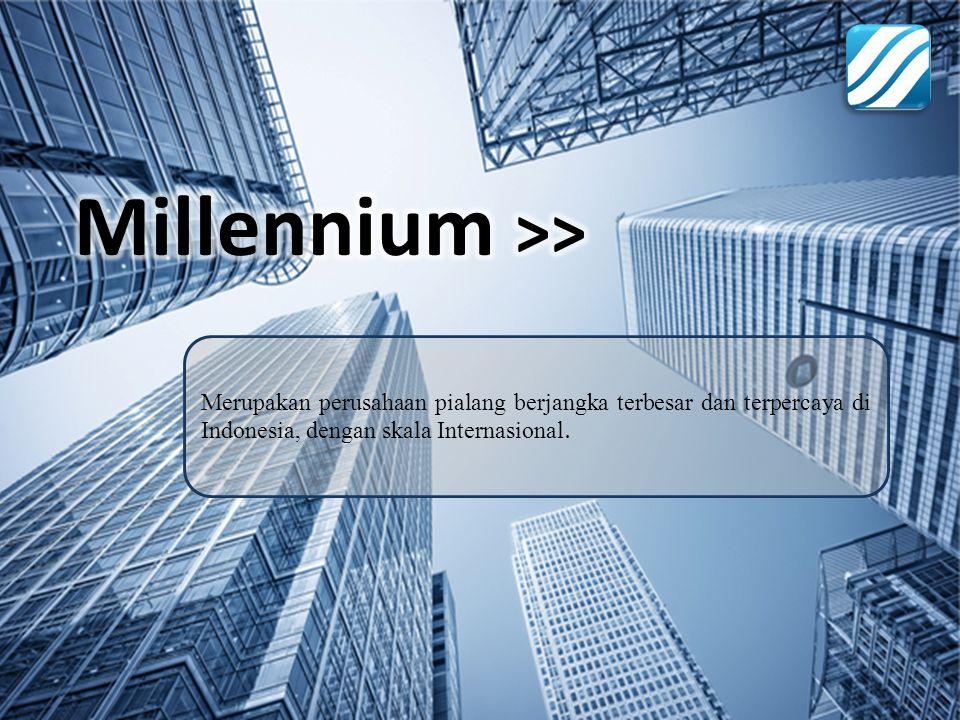 Millennium >> Merupakan perusahaan pialang berjangka terbesar dan terpercaya di Indonesia, dengan skala Internasional.