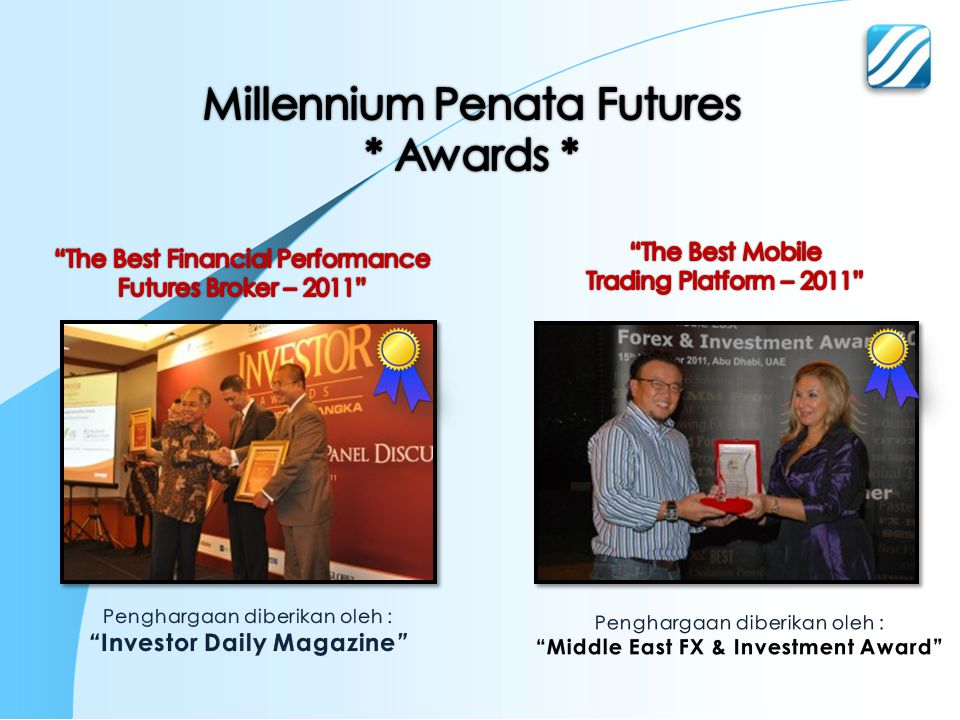 Investor Daily Magazine Middle East FX & Investment Award