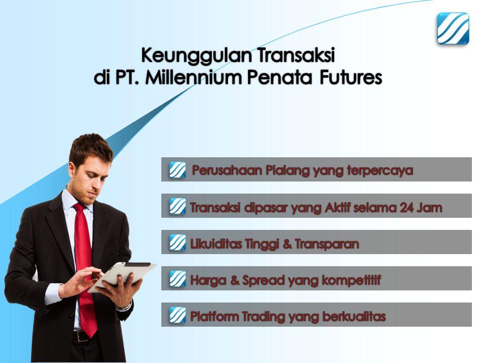 di PT. Millennium Penata Futures